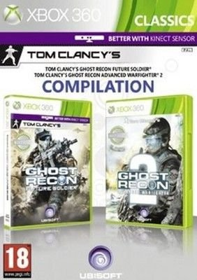 Tom Clancy's Ghost Recon Double Pck-Ghost Recon Future Soldier & Advanced Warfighter 2 XBOX 360