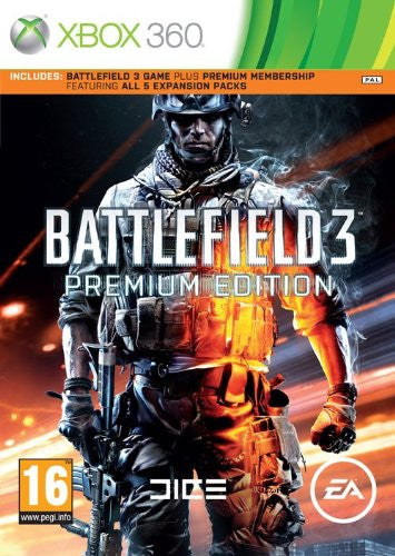 Battlefield 3 Premium Edition xbox360 5 expn packs