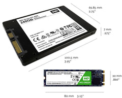 WD Green 240GB Internal sata SSD drive