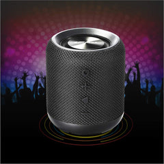 Portronics POR-871 SoundDrum Bluetooth 4.2 Stereo Speaker (Black)