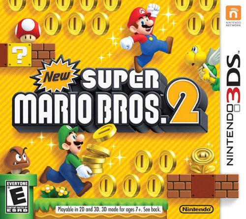 New Super Mario Bros 2 Nintendo 3DS NTSC