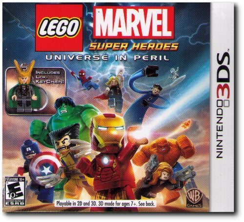 Lego Marvel Super Heroes: Universe In Peril Nintendo 3DS NTSC