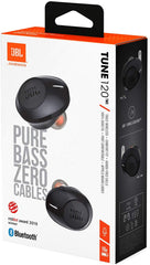 JBL Tune 120TWS Truly Wireless in-Ear Earphones Black
