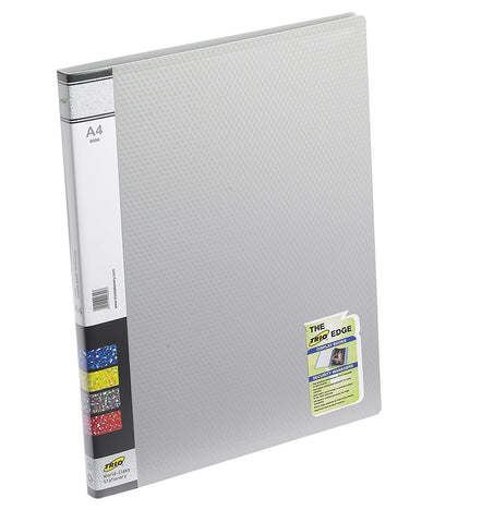 TRIO 600A Display File- 10 Pockets A/4 (Set of 4,Grey)