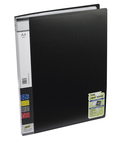 TRIO 603A Display File 30 Pockets A/4 (Set of 4 Black)
