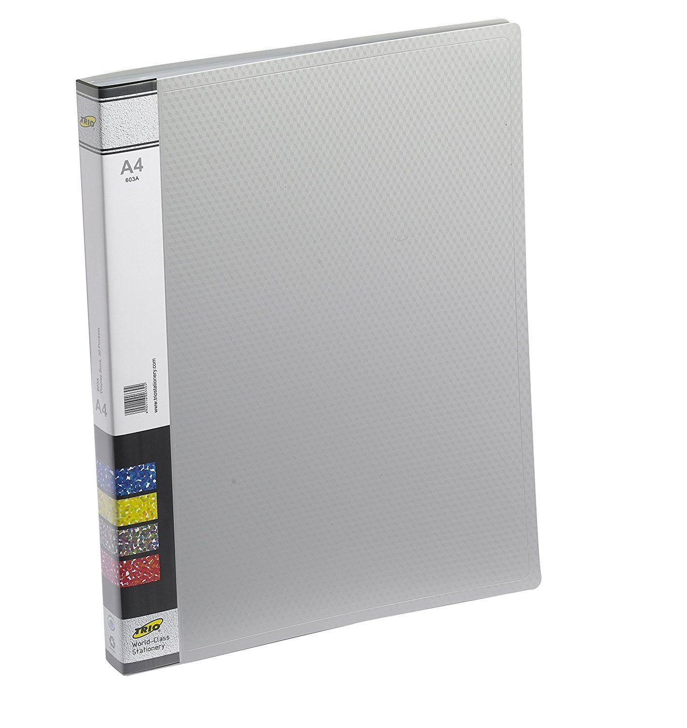 TRIO 603A Display File 30 Pockets A/4 (Set of 4 Grey)