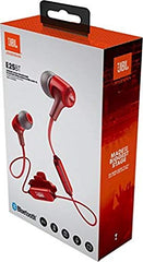 JBL E25BT Bluetooth Wireless in-Ear Headphones with Mic (Red)