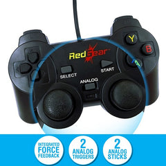 Redgear Smartline Wired Gamepad Plug and Play support for all PC games