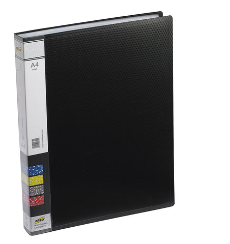 TRIO 604A Display File 40 Pockets A/4 (Set oF 2 Black)
