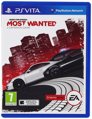 PS Vita Need for Speed Most Wanted NFS