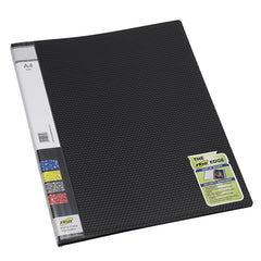 TRIO 600A Display File- 10 Pockets A/4 (Set of 4,Black)