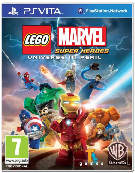 Lego Marvel Super Heroes PS Vita