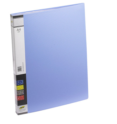 TRIO 603A Display File 30 Pockets A/4 (Set of 2 Blue)