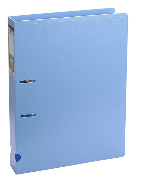 TRIO 07F Ring Binder File 2-D: 40MM Ring FC Size (Set of 2 Blue)