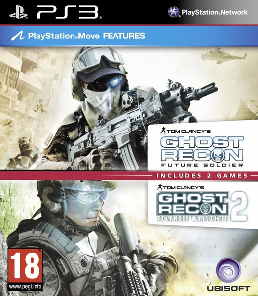 Tom Clancys Ghost Recon Double Pack - Includes Ghost Recon Future Soldier & Advanced Warfighter 2 (PS3) (UK)