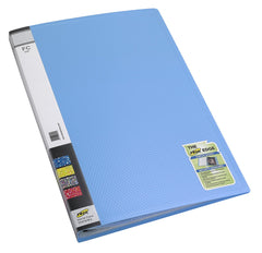 TRIO 604F Display File 40 Pockets F/C (Set Of 2 Blue)
