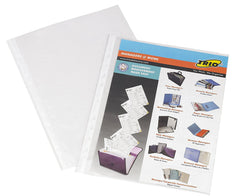 TRIO SP75A4 Thick Sheet Protector A/4 (Set Of 100)