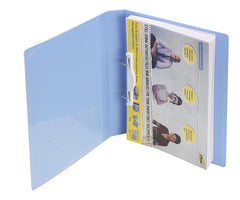 TRIO 08A Ring Binder 2D 25mm A4 (Set Of 4 Blue)