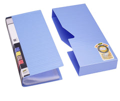 TRIO BC480J Business Card Holder - 480 Cards With Case (Set Of 2 Blue)