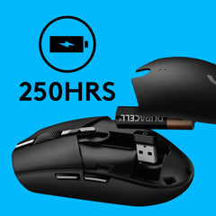 Logitech G 304 Wireless Gaming Mouse Black