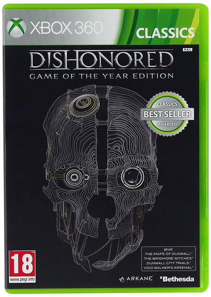 Dishonored - Game of the Year Edition Xbox 360