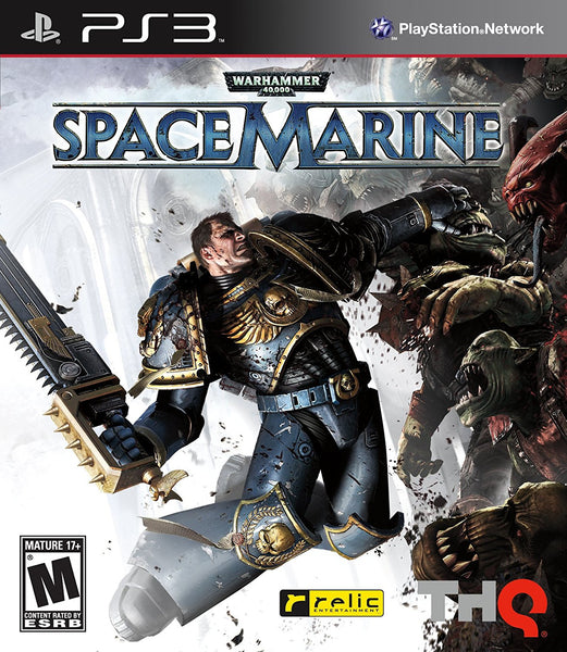 Warhammer 40,000: Spacemarine (PS3)