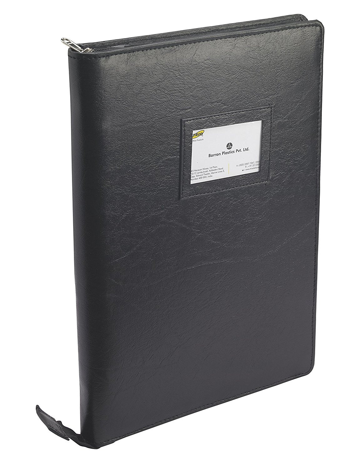 TRIO UB2RF Urban Binder Folio With Pad F/C Black