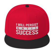 I will persiste until success