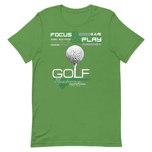 Master your Focus and you Master Golf, Tee