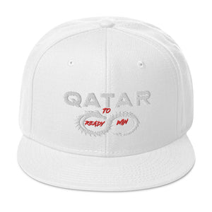Qatar is ready to win, Snapback Hat