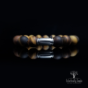 "Apparel & Accessories > Jewelry ""Eye of the Tiger"" Series 10 , Men's Bracelets / Cuffs - Eclectically Simple, LLC"