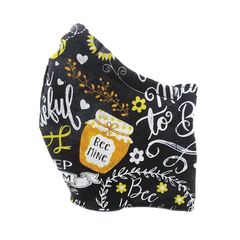 Bee Mine - Fabric Masks - Eclectically Simple