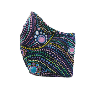 Disco Dots - Fabric Masks - Eclectically Simple