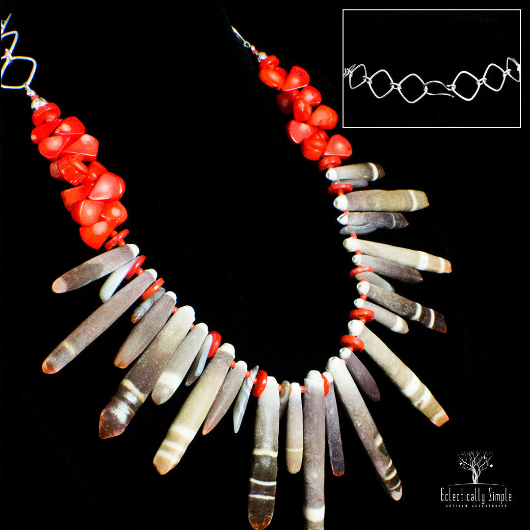 Apparel & Accessories > Jewelry > Watches (201) Maui , Women's Necklace - Eclectically Simple, LLC