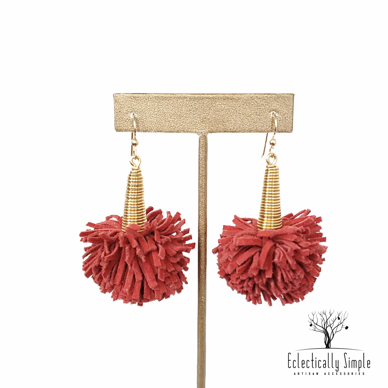 Apparel & Accessories > Jewelry JAIME - Tousled With Attitude (TWA) Collection , Women's Earrings - Eclectically Simple, LLC
