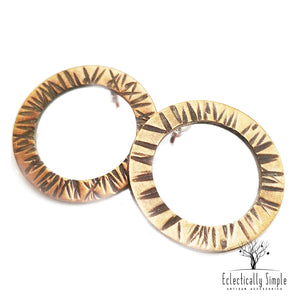 Apparel & Accessories > Jewelry > Watches (201) Timeless Infinity Post Earrings , Women's Earrings - Eclectically Simple, LLC