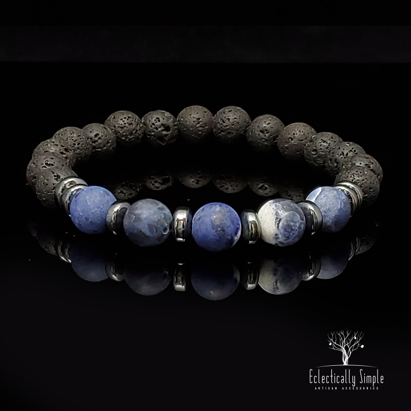 Apparel & Accessories > Jewelry Solar Plexus Series 01 , Men's Bracelets / Cuffs - Eclectically Simple, LLC