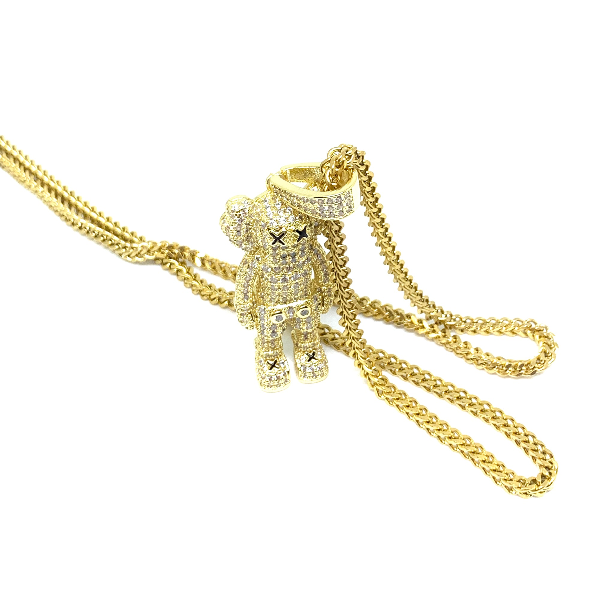 Iced Out Figure Necklace
