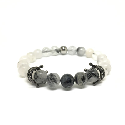 Coronal Black with Black Quartz
