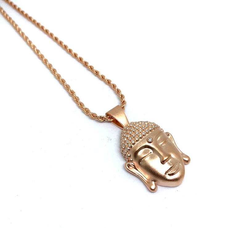 Buddha Head Rose Gold