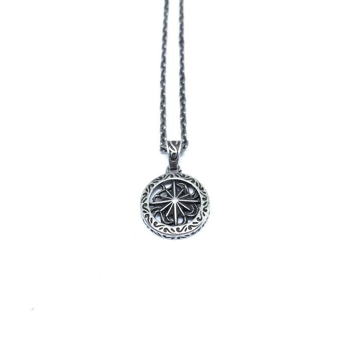 Rise necklace silver