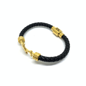 Cornerstone Leather Bracelet