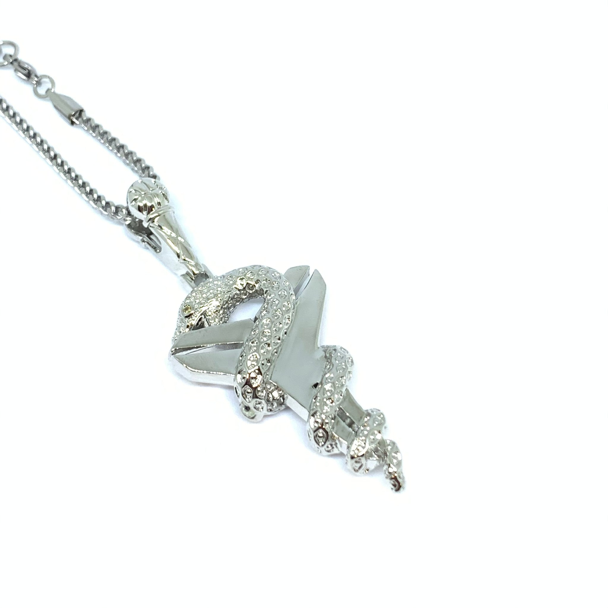 Silver Limited Edition Mamba Necklace