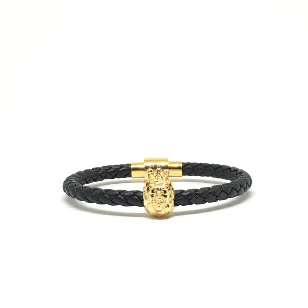 Gold Lion / Nappa Leather