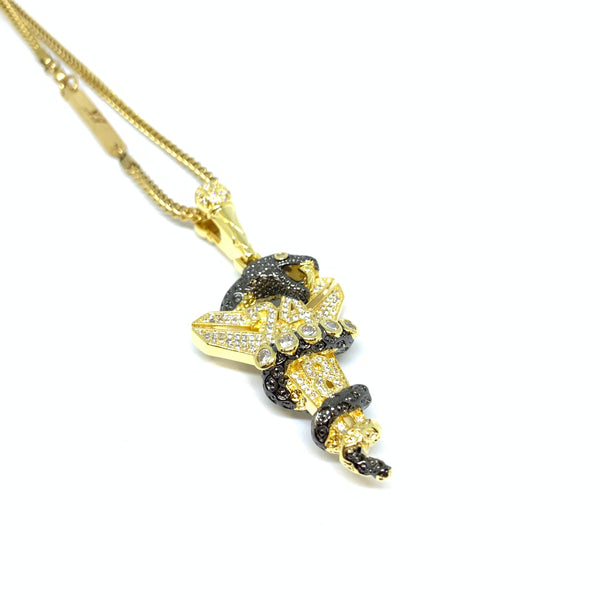 Black Limited Edition Mamba Necklace