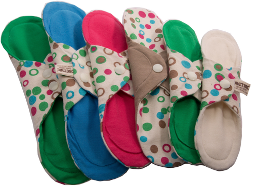 Organic Cloth Pad Packs - Orethic.com
