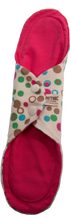 Load image into Gallery viewer, Organic Cloth Pads Polkadots - Orethic.com