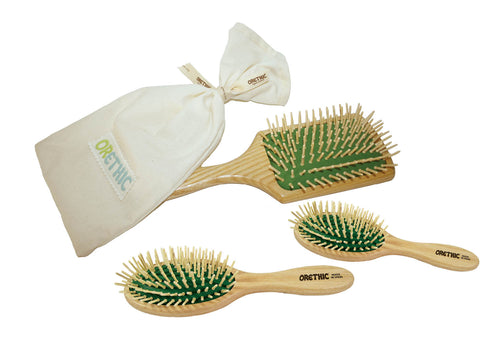 Wooden Hairbrush - Orethic.com
