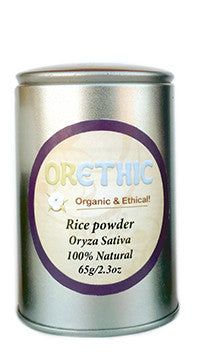 Organic Rice Powder - Orethic.com