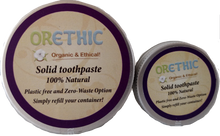 Load image into Gallery viewer, Refillable Toothpaste - Orethic.com